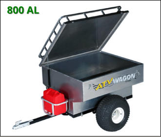 ATV Wagon: 800 Aluminum ATV Trailer